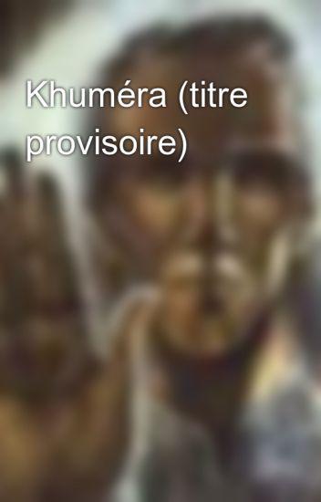 Khuméra (titre provisoire)