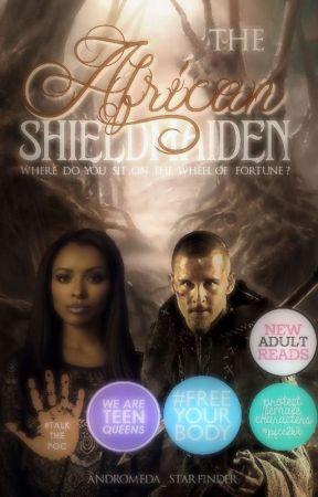 The African Shieldmaiden by Andromeda_Nova
