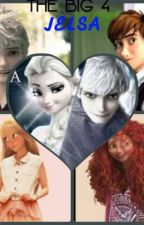 The BIG 4: Jelsa In Fantasy High by ashley_arendelle