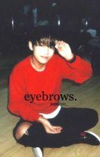 Eyebrows » Taehyung by jooseyo_