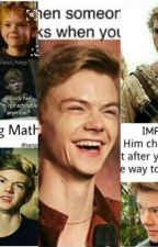 Thomas Sangster/ Newt Imagines by marissasangster