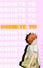 Oshiete Yo | KageHina ✏  by pervytaehyung