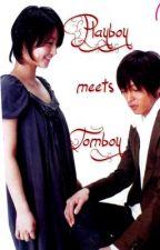 Playboy meets Tomboy by ClumsyKlutz
