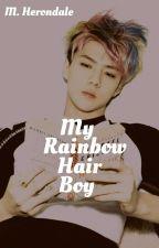 My Rainbow Hair Boy » Kaihun  by M-Herondale