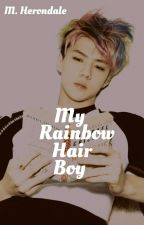 My Rainbow Hair Boy » Kaihun  by M-Herondale