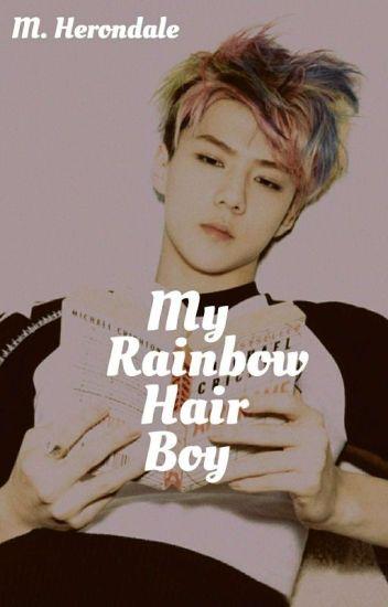 My Rainbow Hair Boy » Kaihun