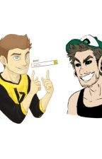 Bingsepticeye and Antisepticeye X Child! Reader by AnimeBooksVideoGames
