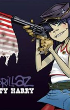 Dirty Harry (A Noodle and 2D love story) by GorillazAreInMyMind