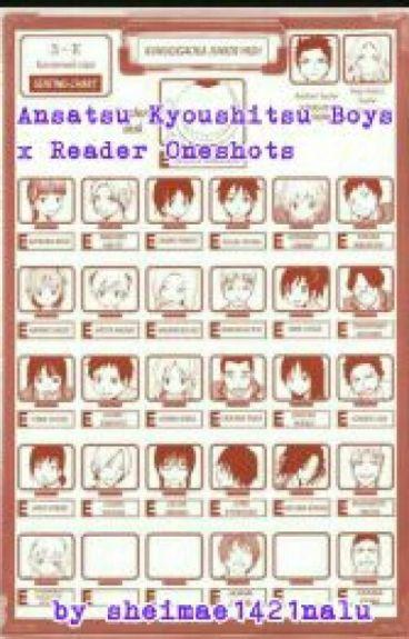 Ansatsu Kyoushitsu Boys x Reader Oneshots (Open For Requests)