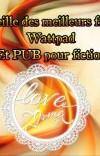 Recueille des meilleurs fictions Wattpad et PUB pour fiction.  by Katniss54