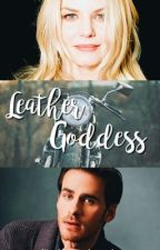 Leather Goddess | captain swan au  by cupcakemorrison