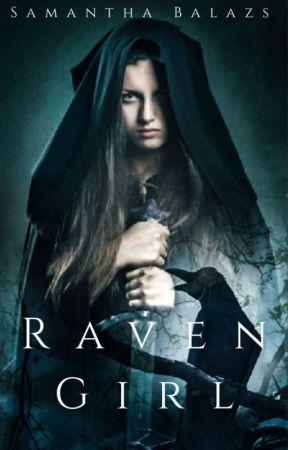 Raven Girl by sambalazs
