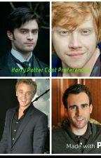 Harry Potter cast Prefrences  by Time-Turner223