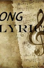 Song Lyrics by __j___