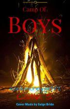 Camp Of Boys by sockmonkeygirl77