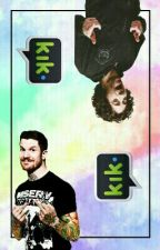 Kik 》 Trohley AU by FolieAFuckOff
