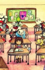 Undertale: School Time?! by AwayaNiki