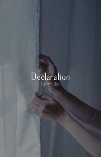 Déclaration  | n.jin