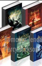 Romanos lendo Percy Jackson e os Olimpianos by filha_de_zeus