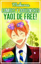Doujinshis Yaoi de Free! by Makuraa