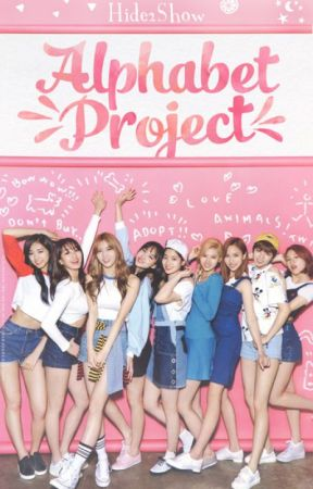 TWICE • Alphabet Project by Hide2Show