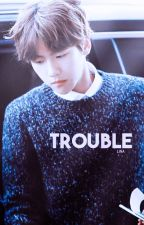 Trouble ≫ b. baekhyun by thewarrior-