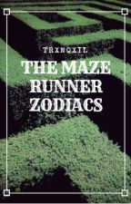 The Maze Runner Zodiacs by trxnqxil