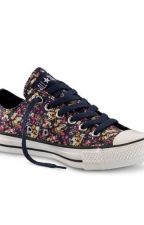 Fiori, converse ed Harry styles <3<3 by naghree