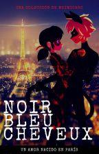 Noir, Bleu, Cheveux by MeimiCaro