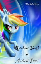My Little Pony: Rainbow Dash w Ancient Town by ShineGem