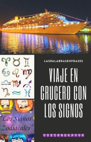Viaje en crucero con los signos