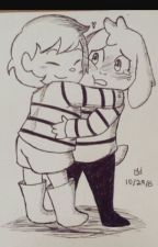 Asriel X Frisk Love With A Flower Boy by pepsicola_factory