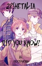 2p!Hetalia: Did you know? by Frostfur789