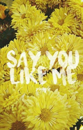 Say you like me