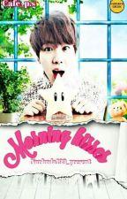 Morning Kisses (BTS Jin X Reader)  by LittleMaknaeTroll