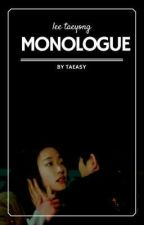 monologue ※ lee taeyong by taeasy