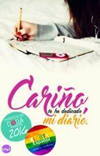 Cariño, te he dedicado mi diario; Lesbian by Rushian-chan