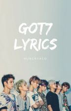 GOT7 Lyrics (with individual parts of romanization and eng) by hungryaco