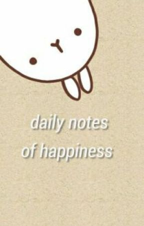 daily notes of happiness by PROJECTPOSITIVE