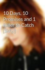 10 Days, 10 Promises and 1 Killer to Catch [SVU] by rebelreba
