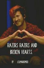 ( Markiplier x Reader ) Razors and broken hearts. by http_reece