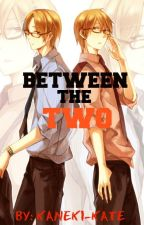 Between The Two (Yandere Twins X Reader) by Kaneki-Kate