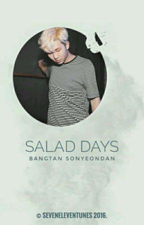 salad days   bts by jooniecorn
