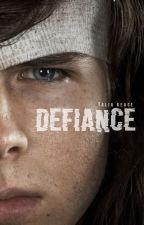 Defiance (Carl Grimes) by michicant
