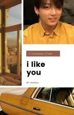 i like you! { p.jm + m.yg } by gloomyjk
