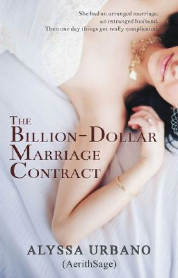 The BillionDollar Marriage Contract Sample Only  Free On Radish