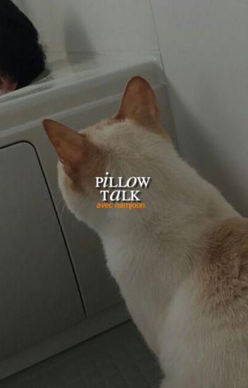 pillow talk; namjoon