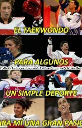 Frases De Una Taekwondoina Patadas Wattpad