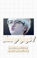 funny guys ➸ book2 au kitten!seokjin by twerkforskjin