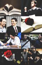 Dos libros y una rosa by meryguana